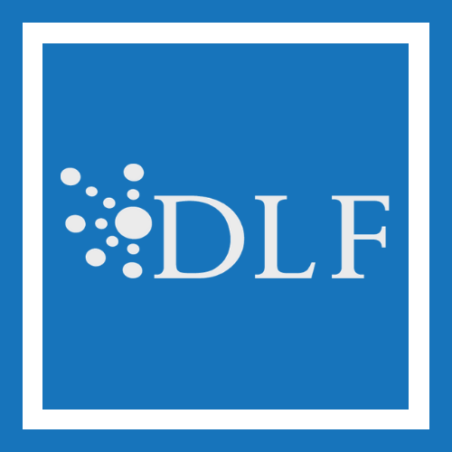 Digital Library Federation (DLF) logo