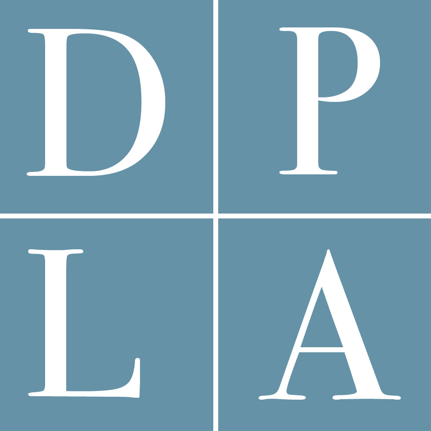 Digital Public Library of America (DPLA) logo